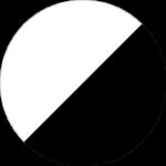 Biało/Czarny